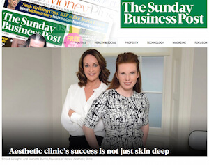 Irish Independent Magazine Renew Aesthetic Clinic