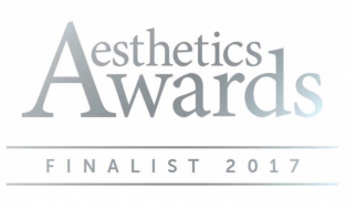 Finalist in Prestigious Aesthetics Awards 2017