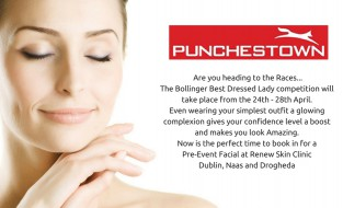 Hold onto your hats, and get your Glow on before heading off to the Punchestown Races